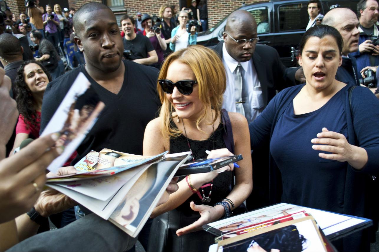 """""""Ninguna mujer puede quedarse con un novio que la golpea"""": Lo que nunca creíste escuchar de Lindsay Lohan"""