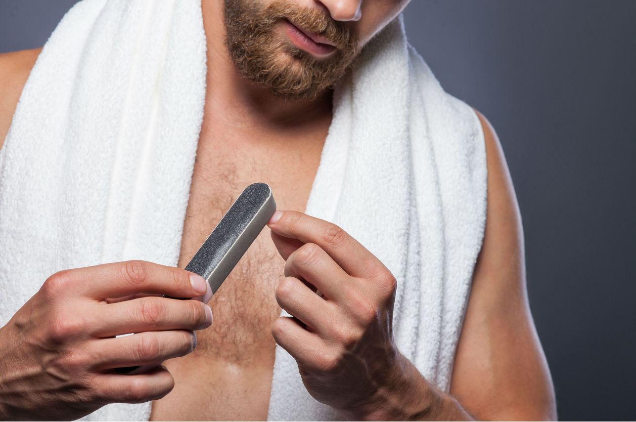 El manicure no sólo es cosa de mujeres… ¡Y nos encanta!