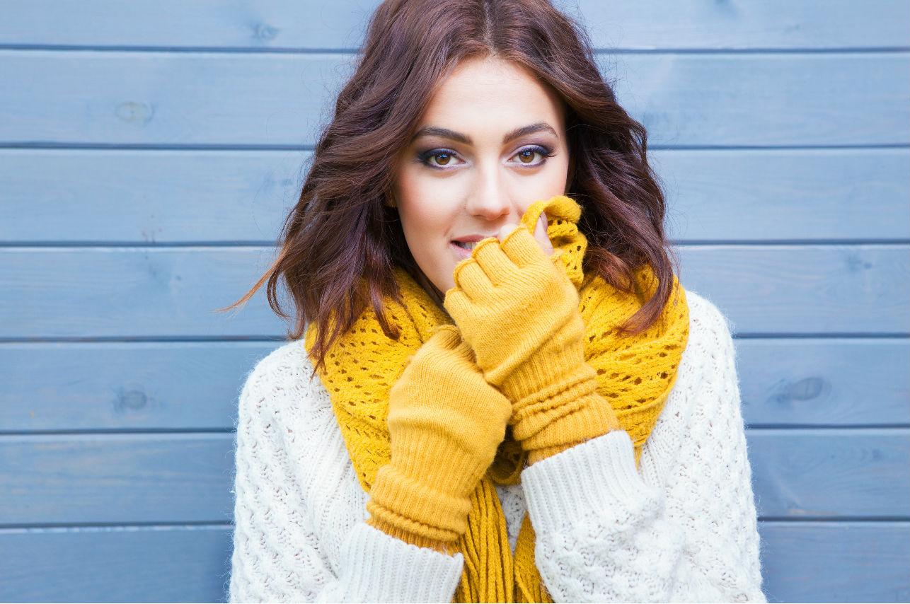 Luce radiante en temporada de frío y cuida tu piel con estos tips
