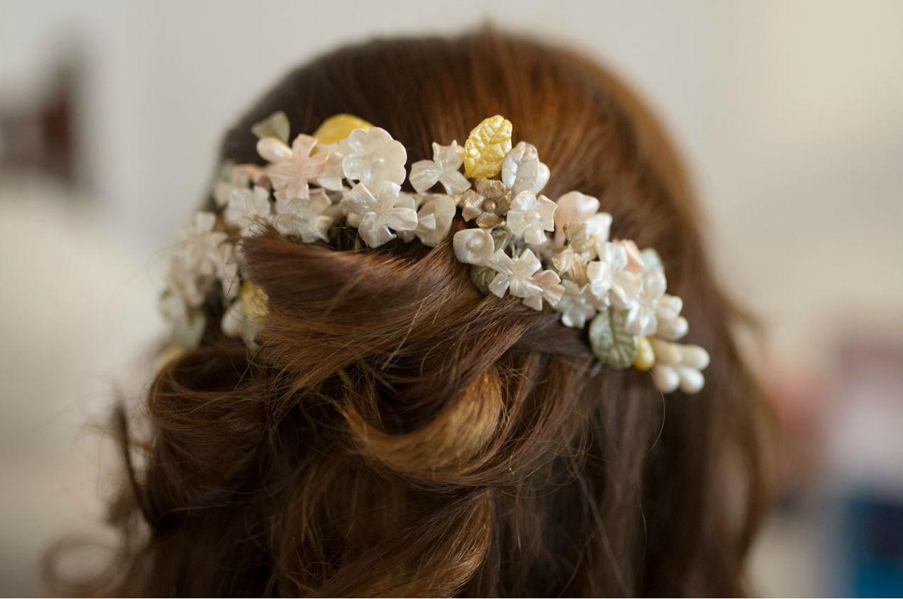 Enamórate de este accesorio que transformará el peinado de tu boda