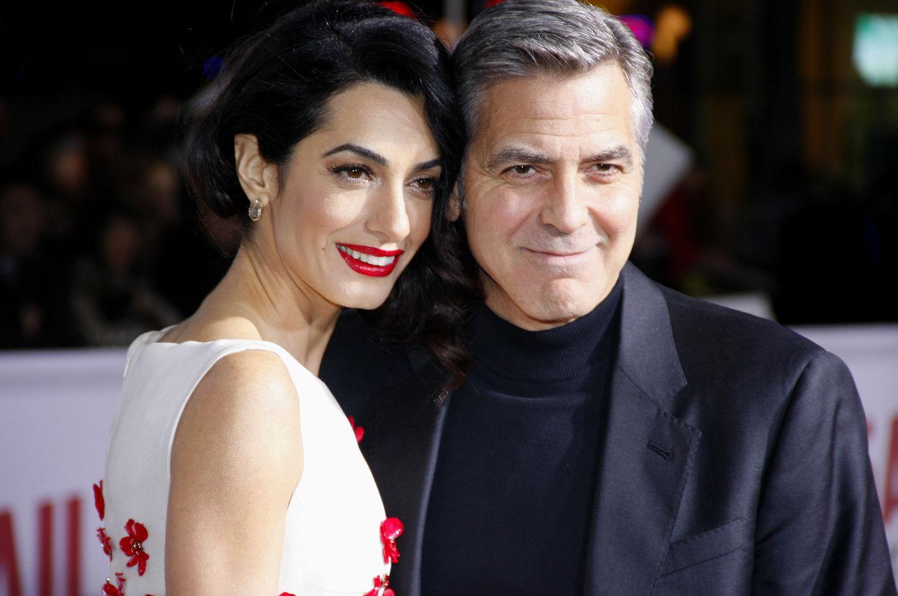 ¡George Clooney y Amal Alamuddin están esperando gemelos!