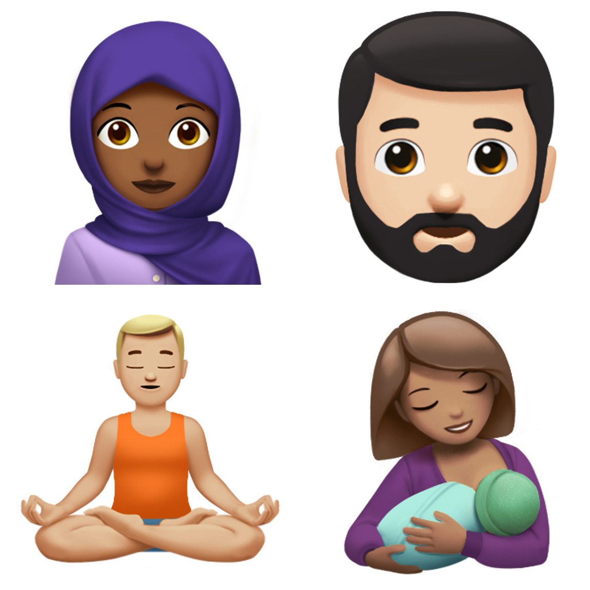 Mamás del mundo, ¡ya hay un emoji de una mamá lactando a su bebé! 🎉