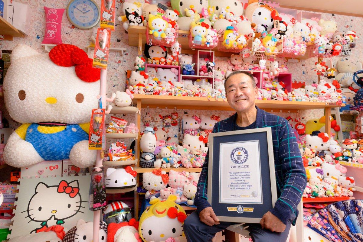 Conoce al policía que tiene la colección de Hello Kitty más grande del mundo