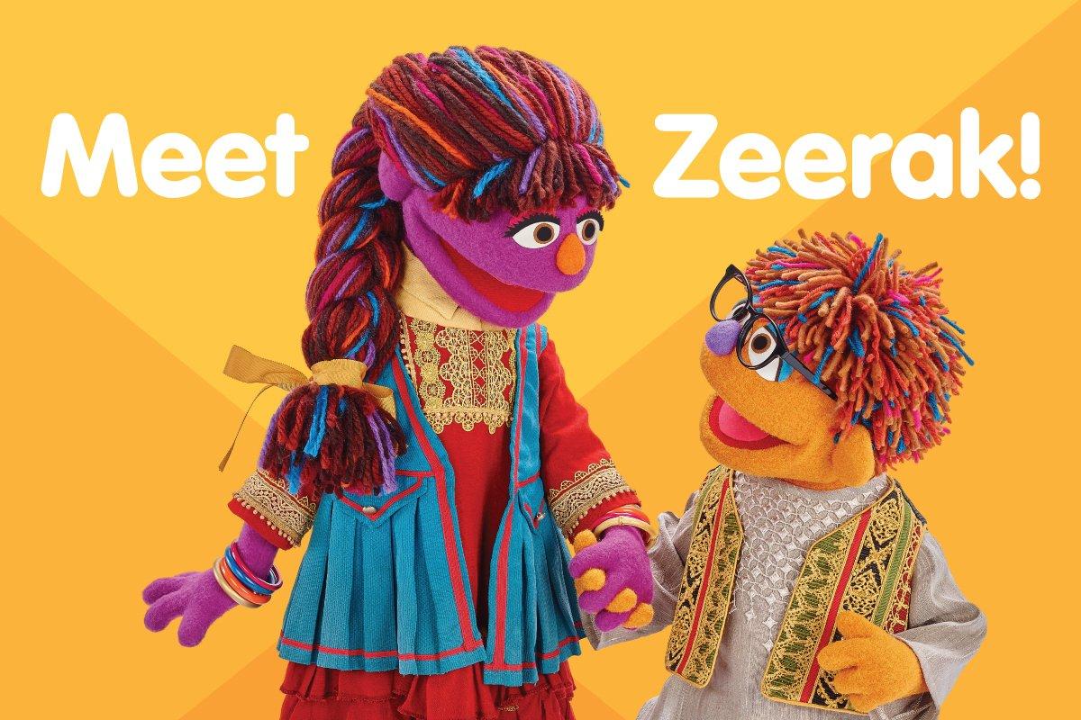 Plaza Sésamo presenta a Zeerak, su nuevo personaje afgano