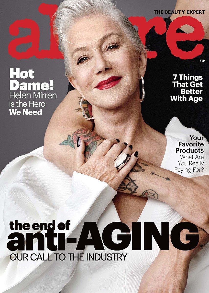 """La revista Allure dejará de usar el término """"anti-envejecimiento"""""""