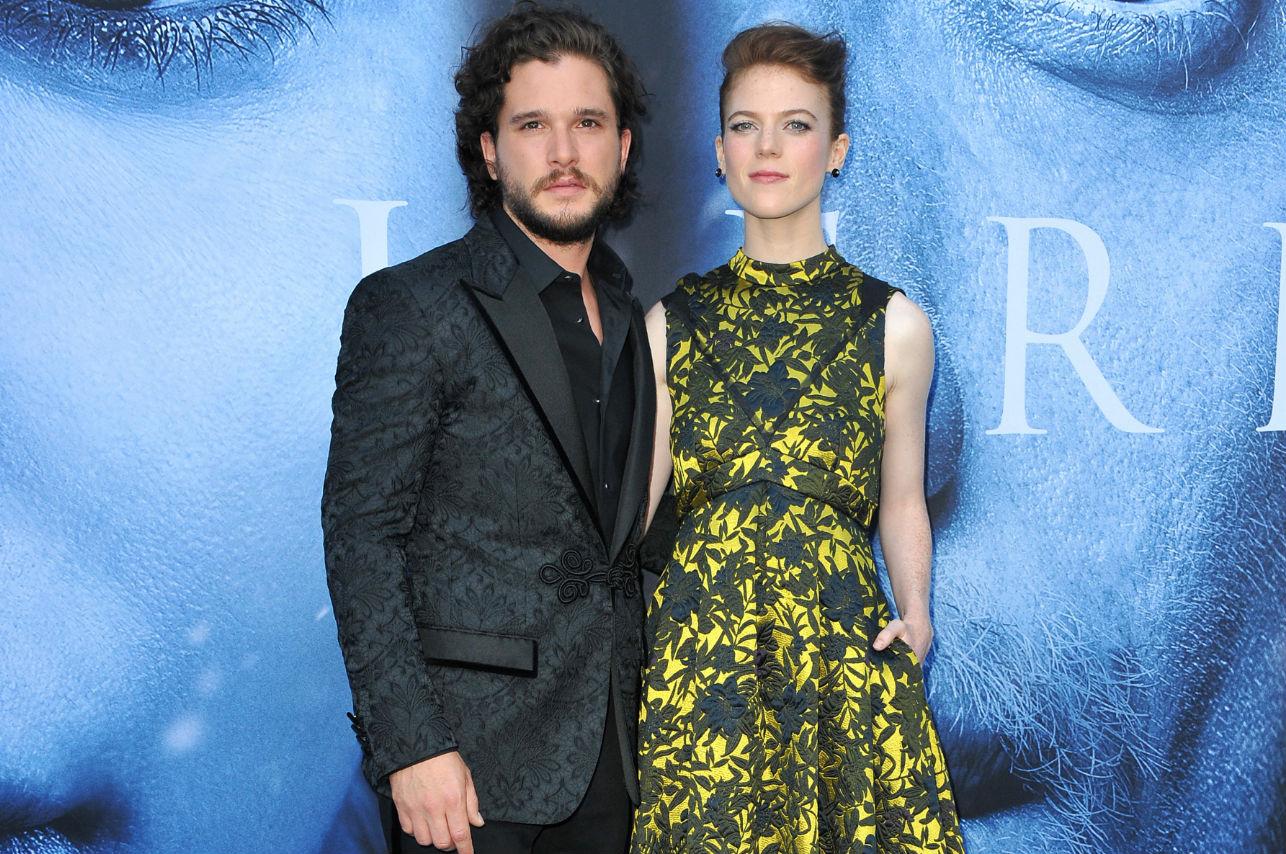 Una pareja de la serie Game Of Thrones ¡Se comprometió en la vida real!