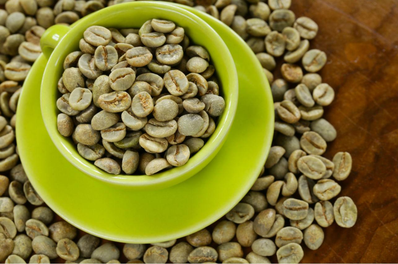 Cafe verde en granos para adelgazar