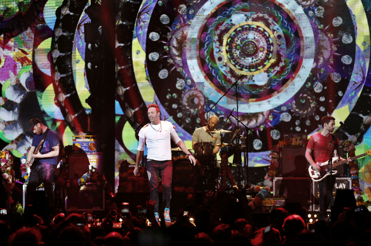 ¡Coldplay se suma al concierto Estamos Unidos Mexicanos!
