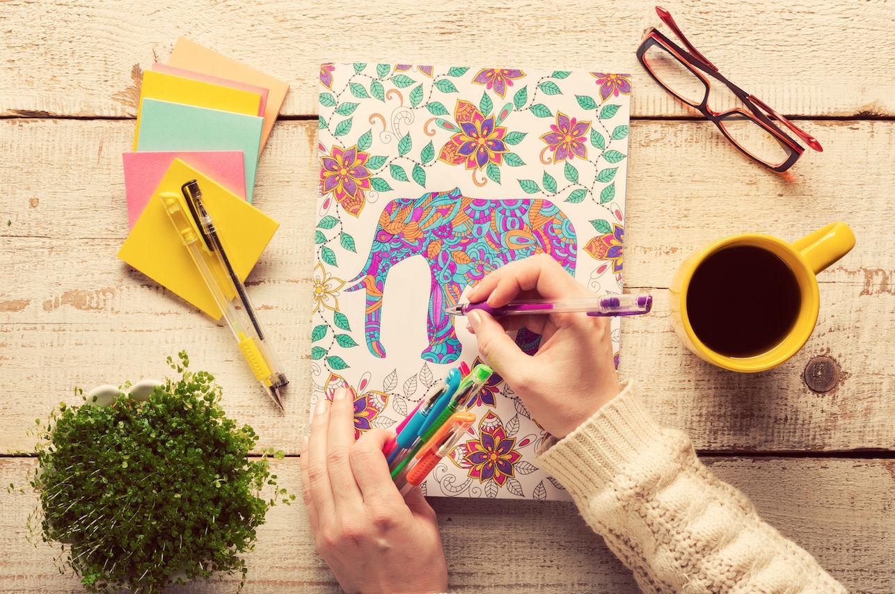 Mindfulness: las ventajas inesperadas de colorear