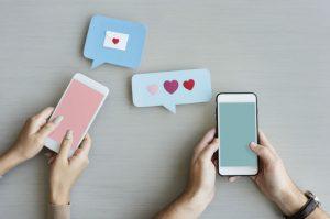 relación-exitosa-mensajes-menos mensajes