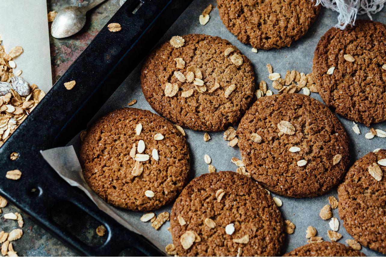 Esto se convertirá en tu mejor snack: galletas veganas ¡sin harina!