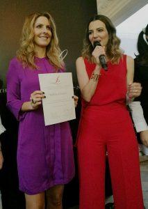 Aline Bortoloti y Marcela Cuevas