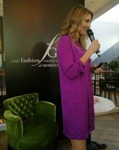 Marcela Cuevas en Fashion Group México