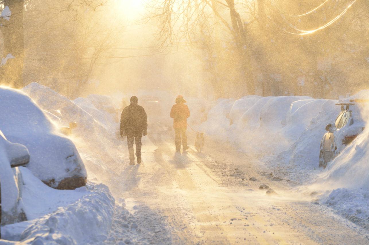 Así luce la ciudad más fría del mundo