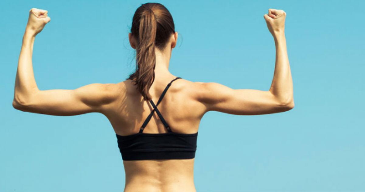 Ejercicios fáciles para reducir los gorditos de la espalda (nivel principiante)