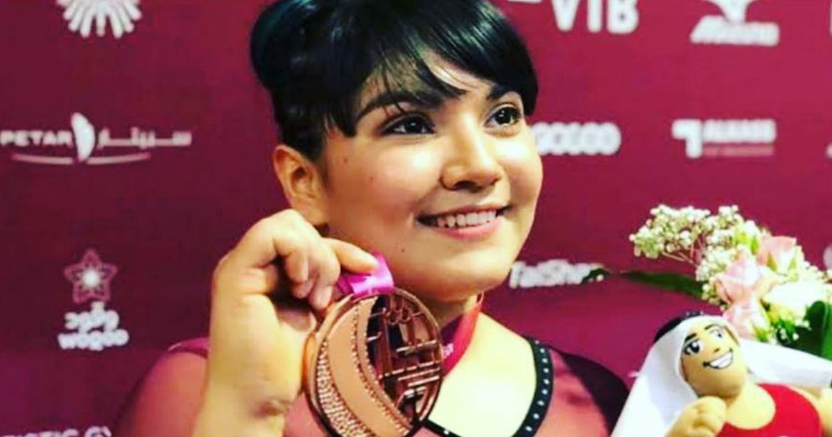 Alexa Moreno hace historia y gana medalla de bronce