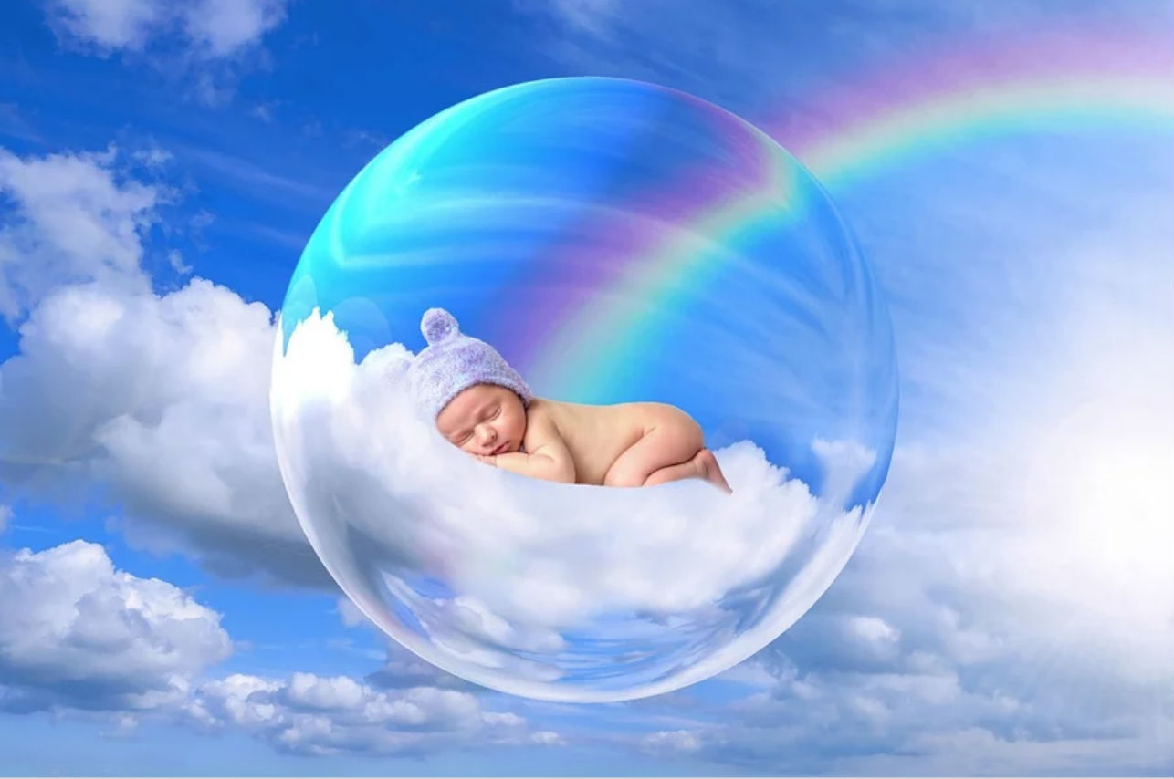 ¿Sabías que existen los «bebés arcoíris»? Mira de qué se trata