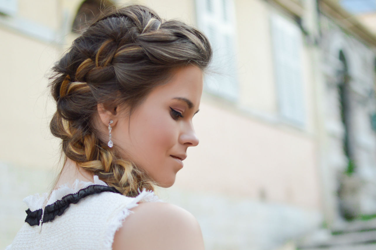 9 peinados con trenzas para verte fabulosa en fiestas de fin de año